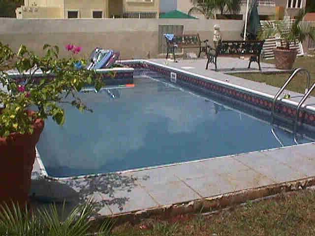 Diy inground swimming pools for Building an inground pool